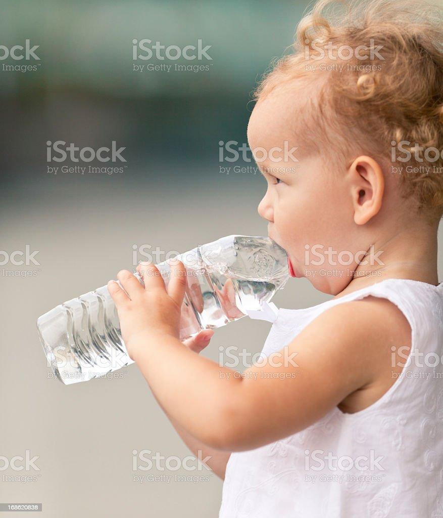 Water Drinker stock photo