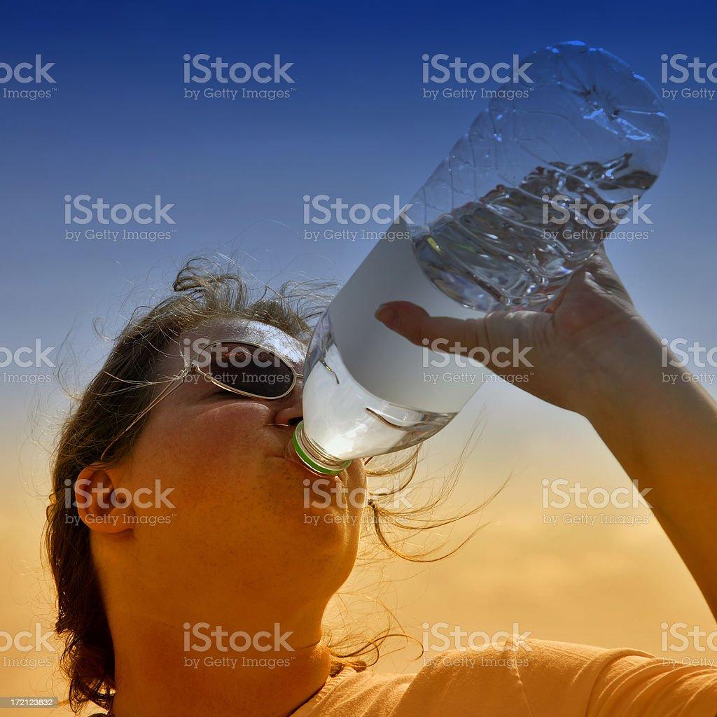 Wasser trinken 01 – Foto