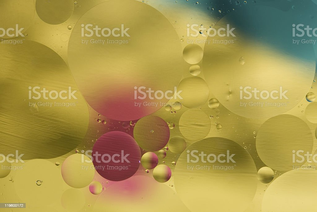 Water Drop Abstract_One royalty-free stock photo