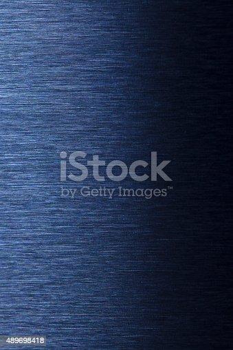 istock Water drop on steel 489698418