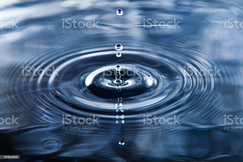 water drop stock photo