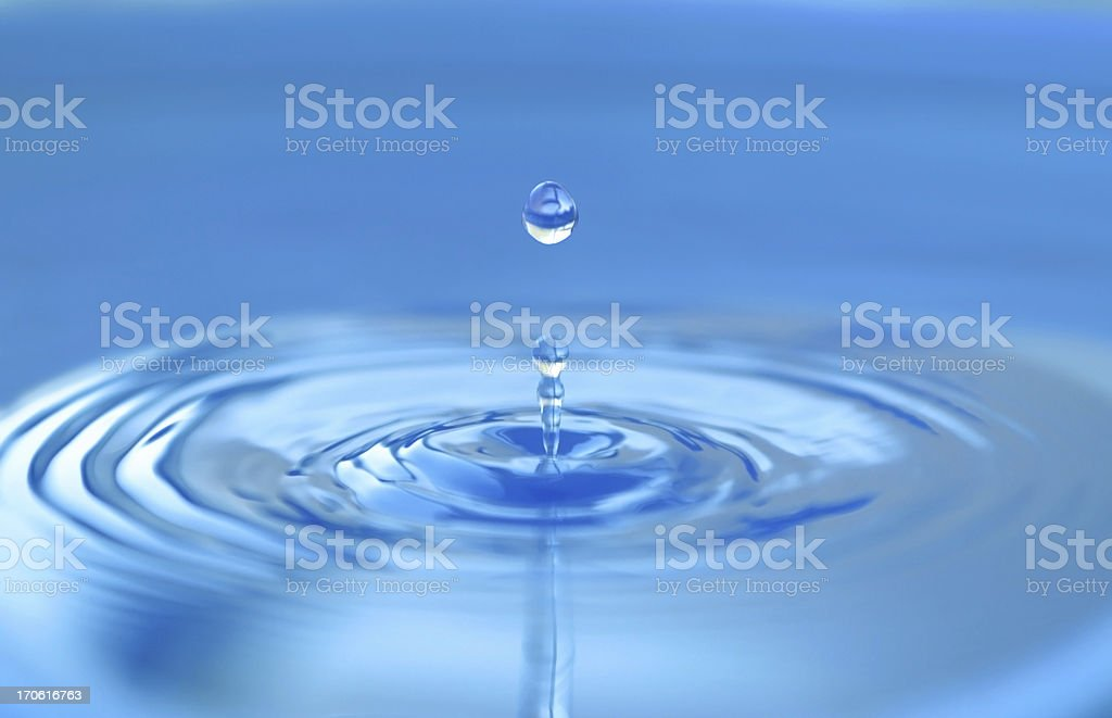 Water drop. stock photo