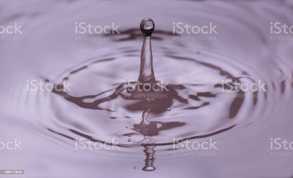 Water drop royalty-free stock photo