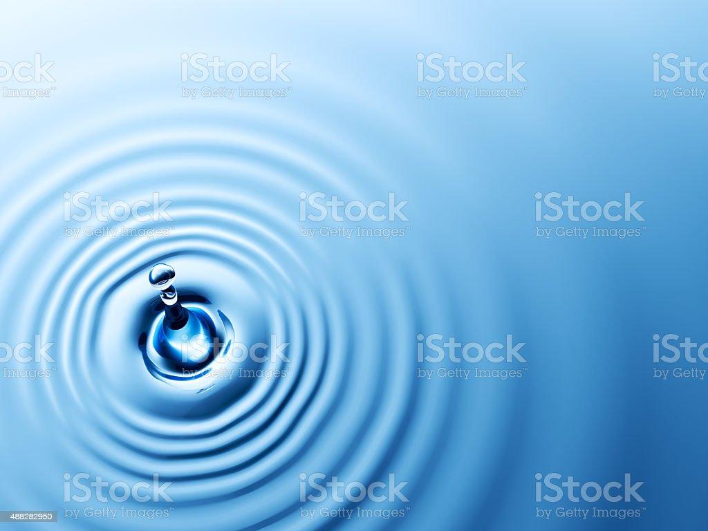 De agua Drop - foto de stock
