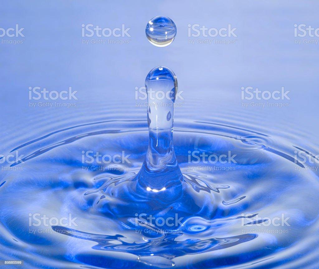 Wasser Tropfen Lizenzfreies stock-foto