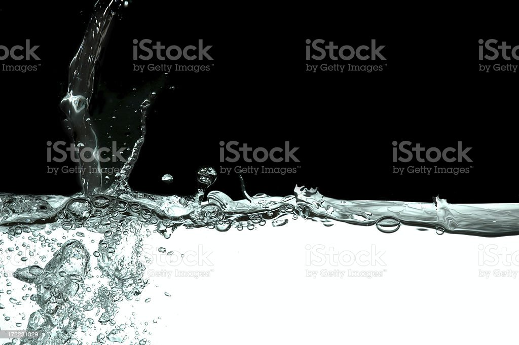Water Drop Splash royalty-free stock photo
