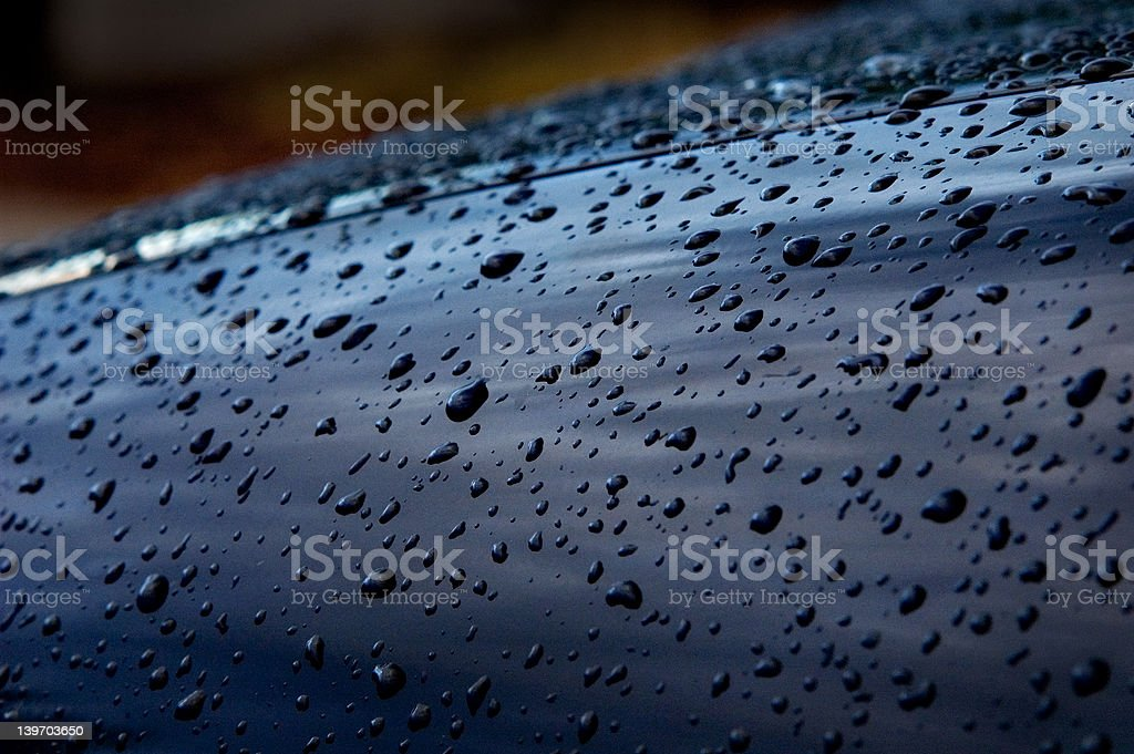 Water Droples II royalty-free stock photo