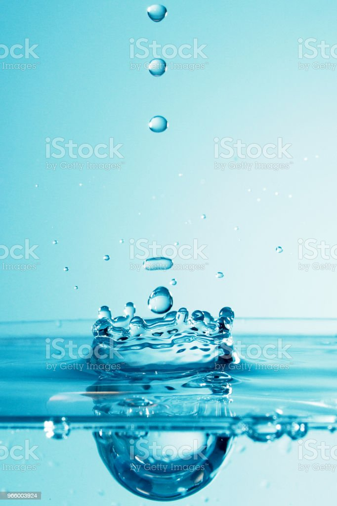 Water droplet as background - Royalty-free Art Stock Photo