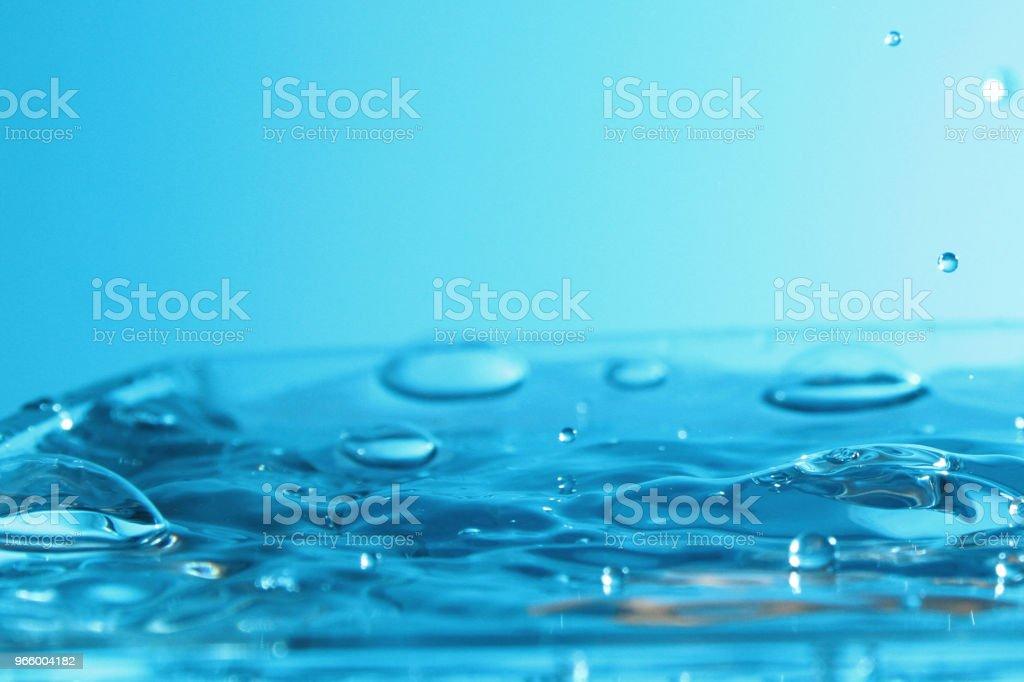 Water droplet als achtergrond - Royalty-free Begrippen Stockfoto