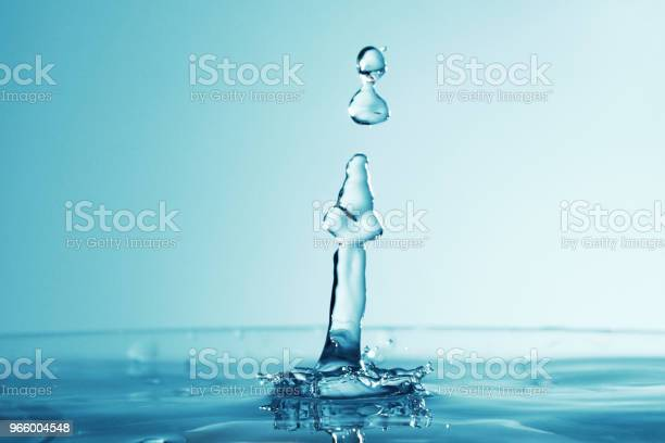 Water Droplet As Background Stock Photo - Download Image Now
