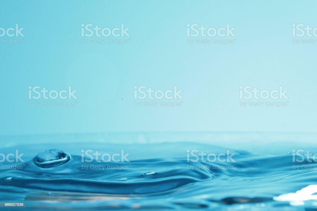 Water droplet as background - Royalty-free Arte Foto de stock