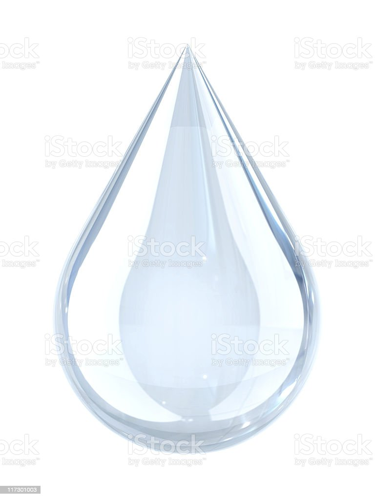 Water droplet royalty-free stock photo