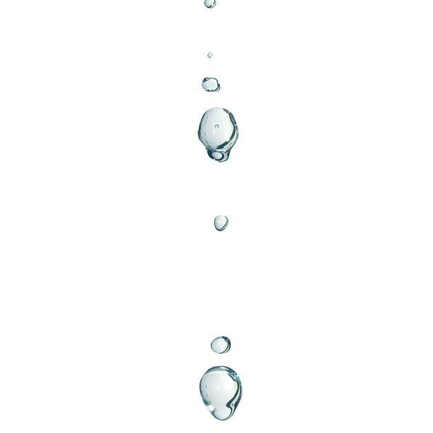 が渦巻く水滴 ストックフォト