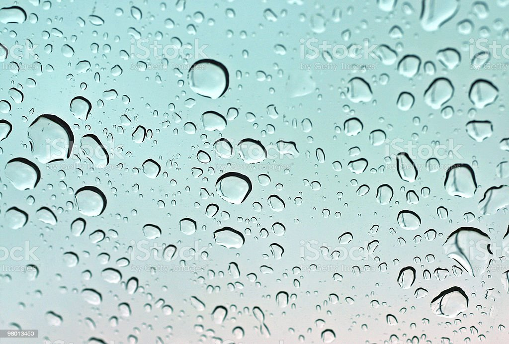 Water Droplets royalty free stockfoto