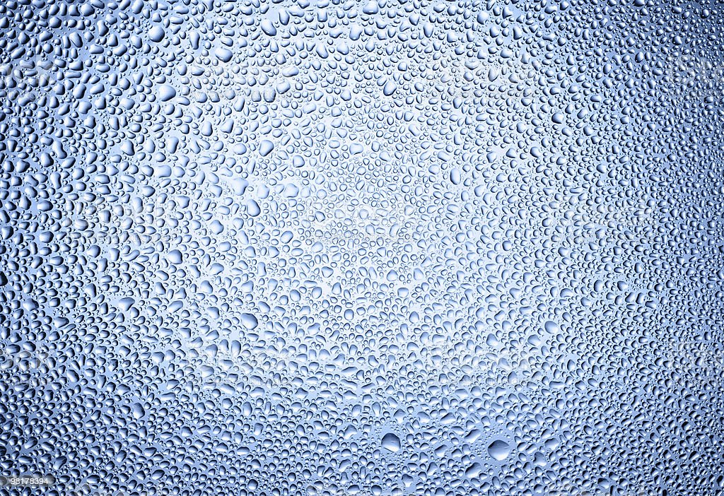 Water drops background royalty-free stock photo