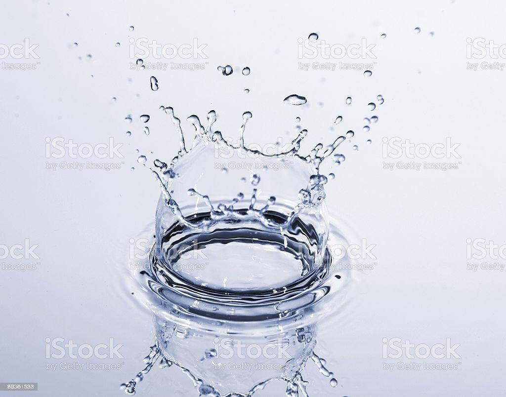 Gocce d'acqua foto stock royalty-free