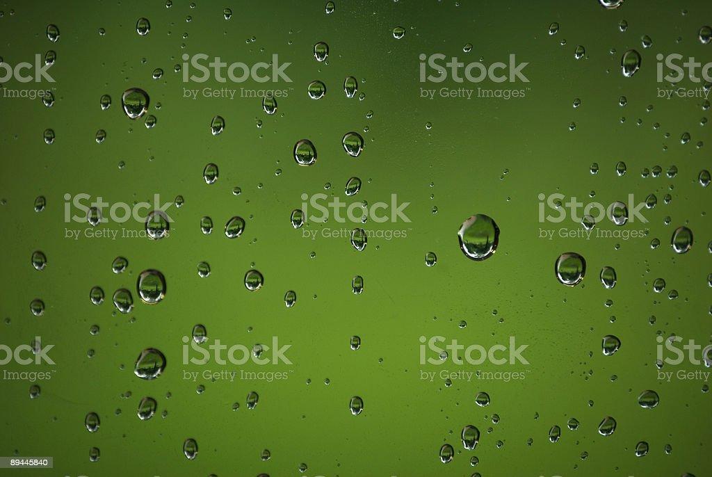 Gouttes d'eau photo libre de droits