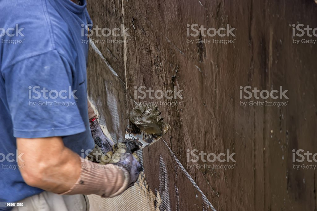 Water Entry Prevention stock photo
