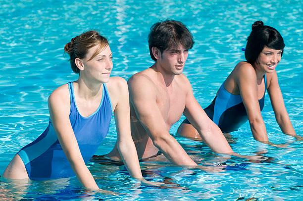 Water Sport mit aquabike – Foto