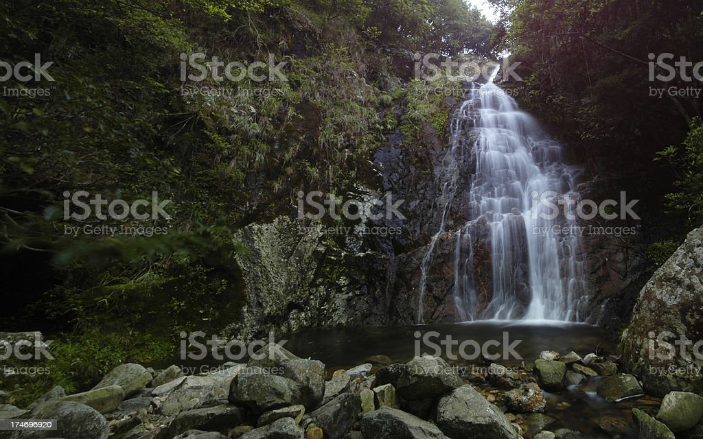Water Fall and Pool royalty-free stock photo