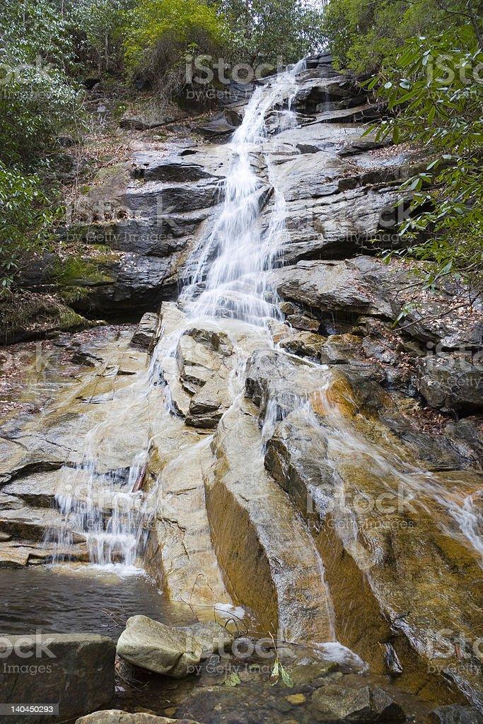 Water Fall Jones Gap State Park stock photo