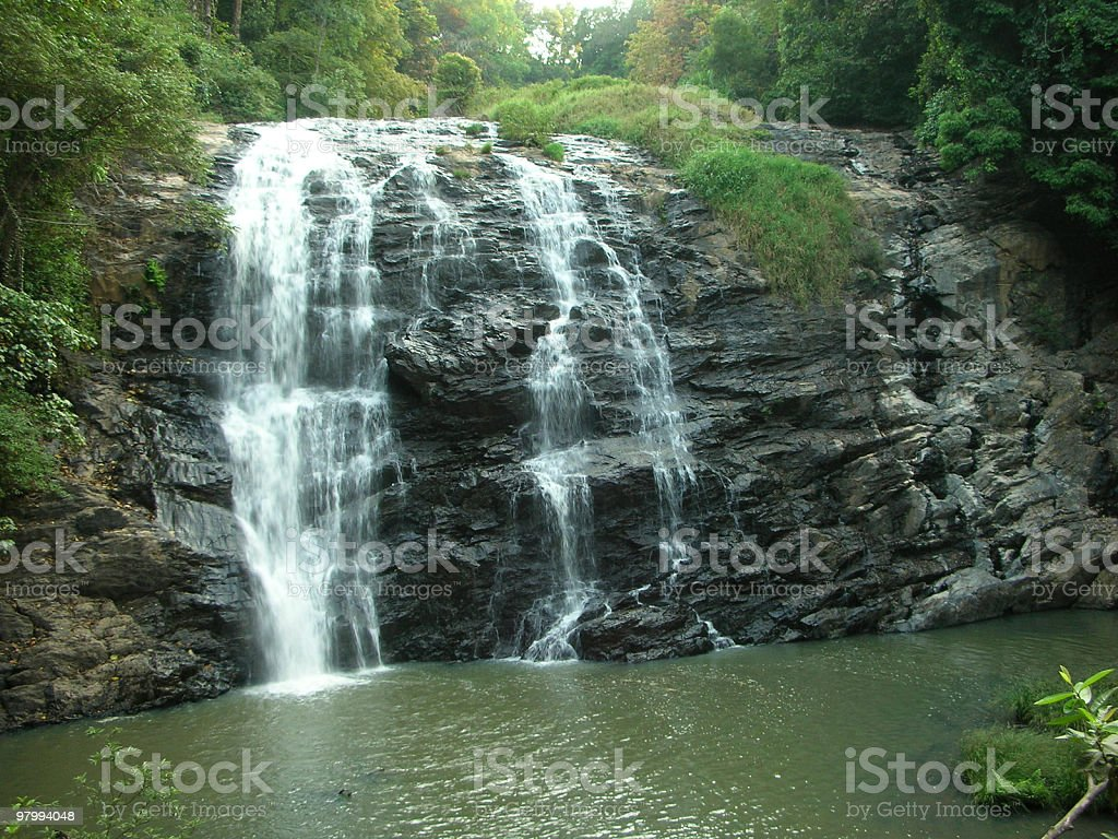 Water Falls royalty free stockfoto