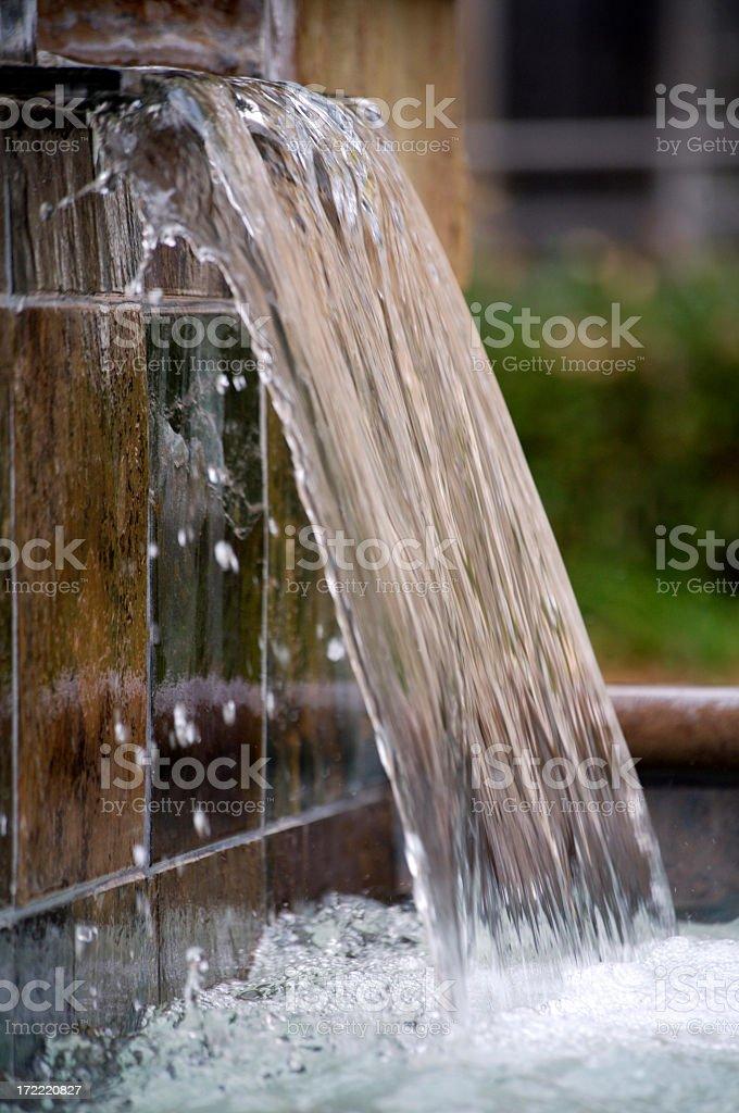 Wasserfall im spa – Foto