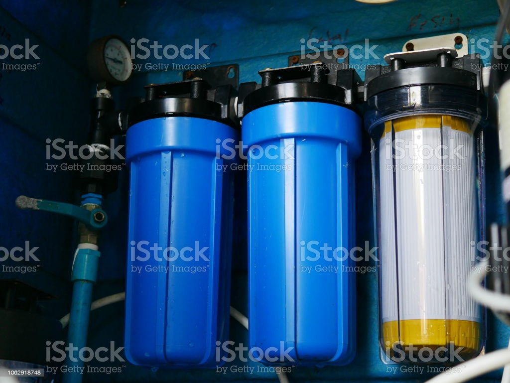water fillter stock photo