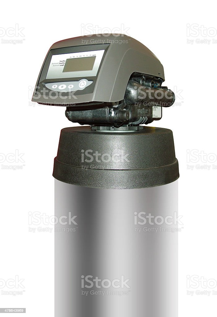 Water filter for clean drinking water isolated stock photo