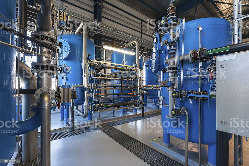 water filter - Lizenzfrei Arbeiten Stock-Foto