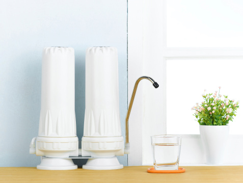 Water Filters For Better Healthy Stock Photo - Download Image Now