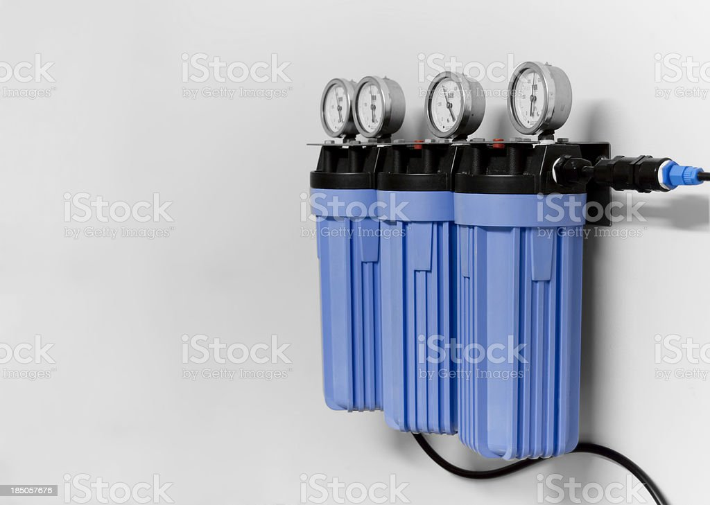 Water Filters royalty-free stock photo