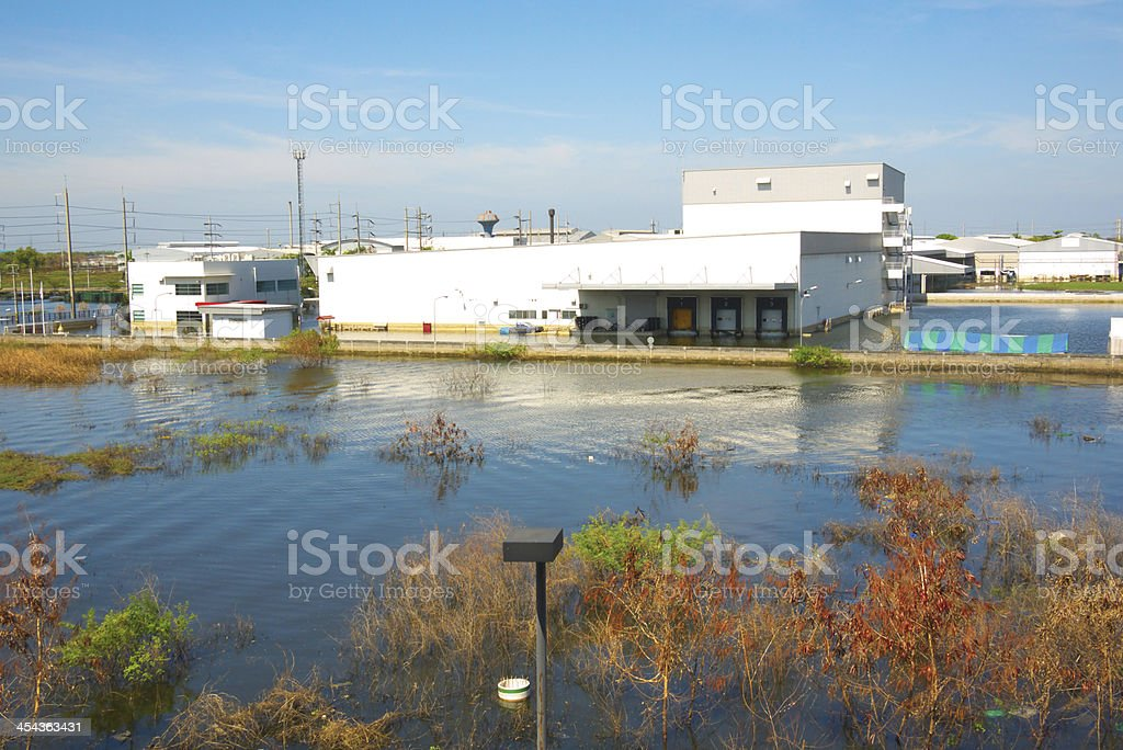 water flood royalty-free stock photo