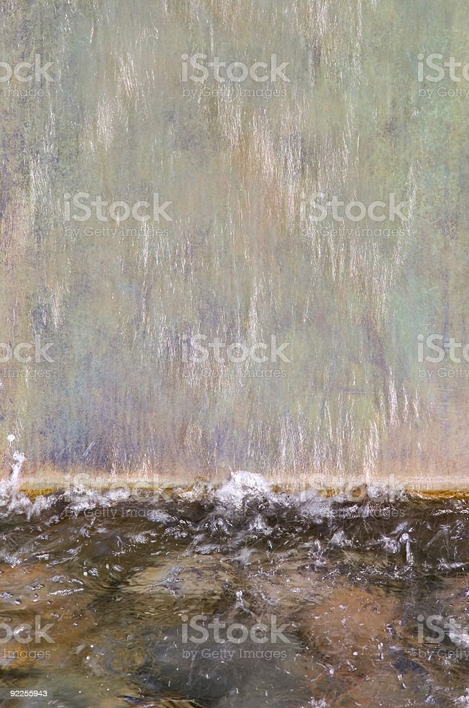 Water Fountain Detail royalty-free stock photo