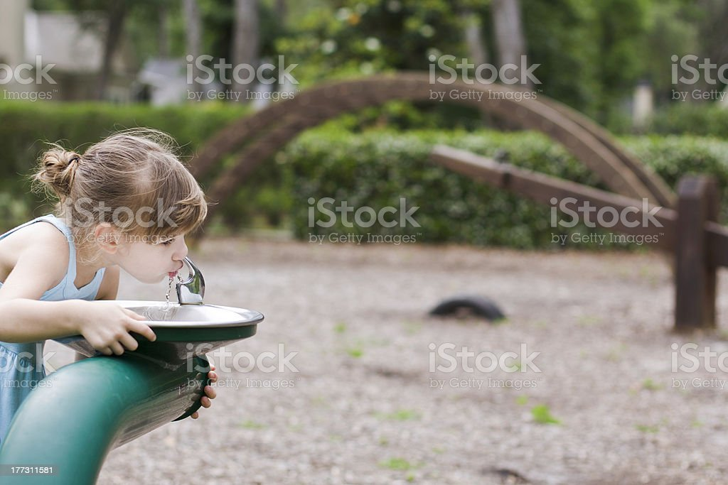 Water Fountain stock photo