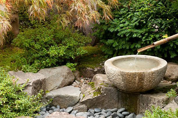 Water fountain stock photo
