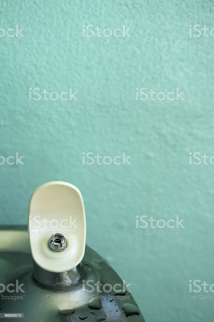 Fuente de Agua royalty-free stock photo