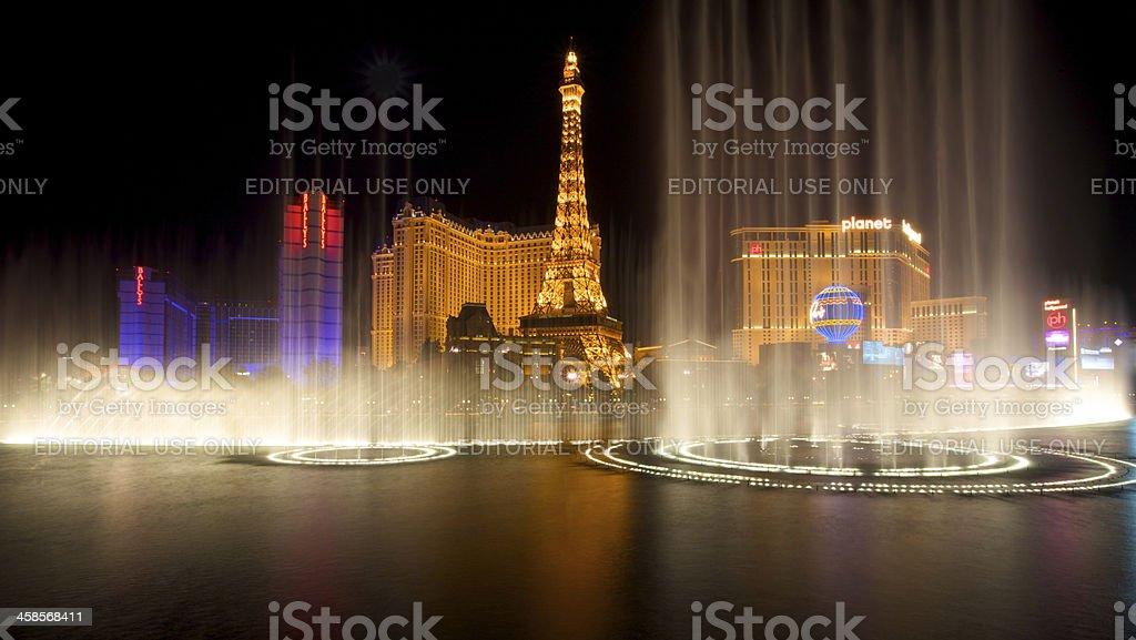 Springbrunnen am Bellagio Las Vegas Show – Foto
