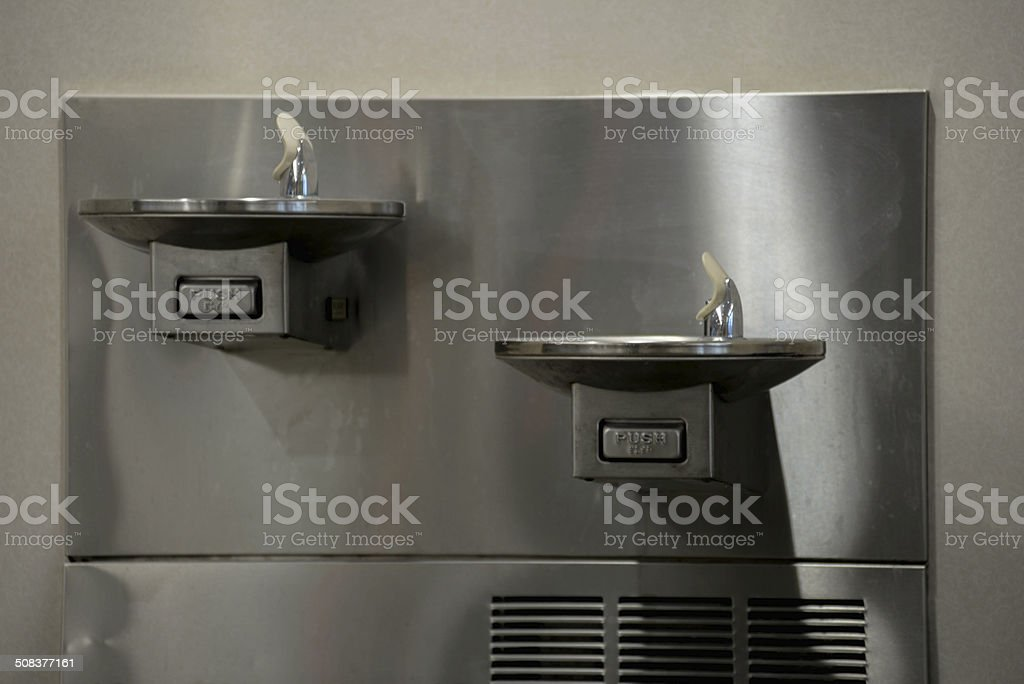 water fountains stock photo