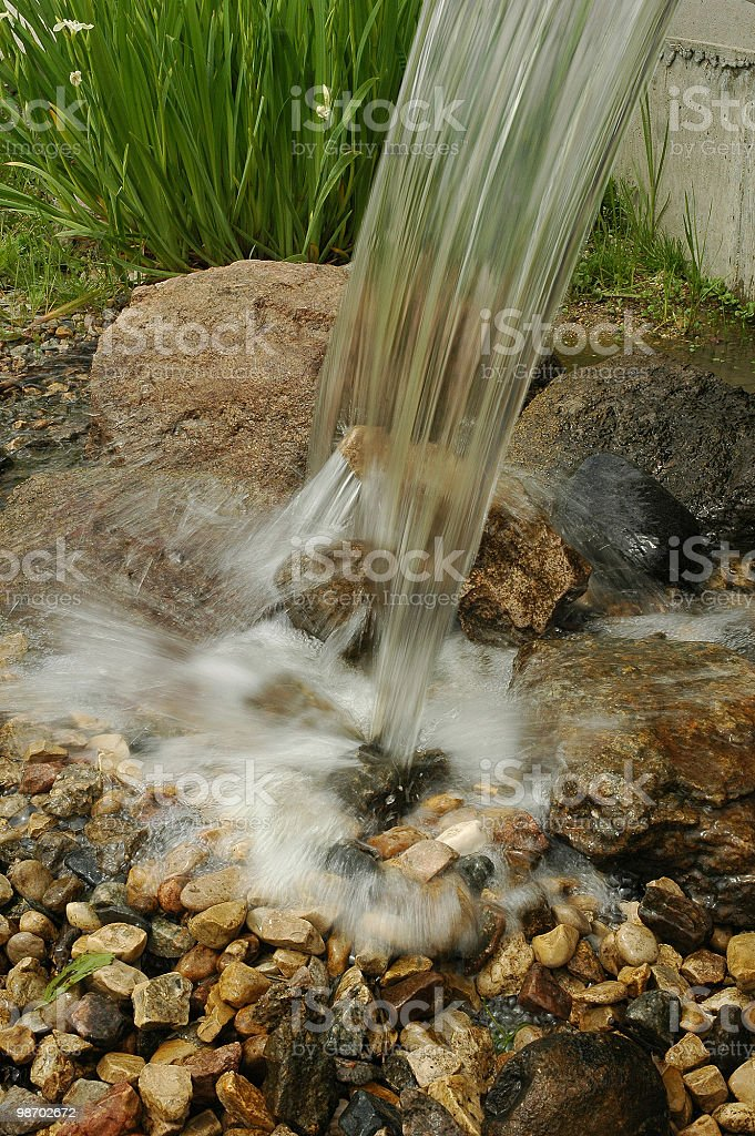 water fountaion royalty-free stock photo