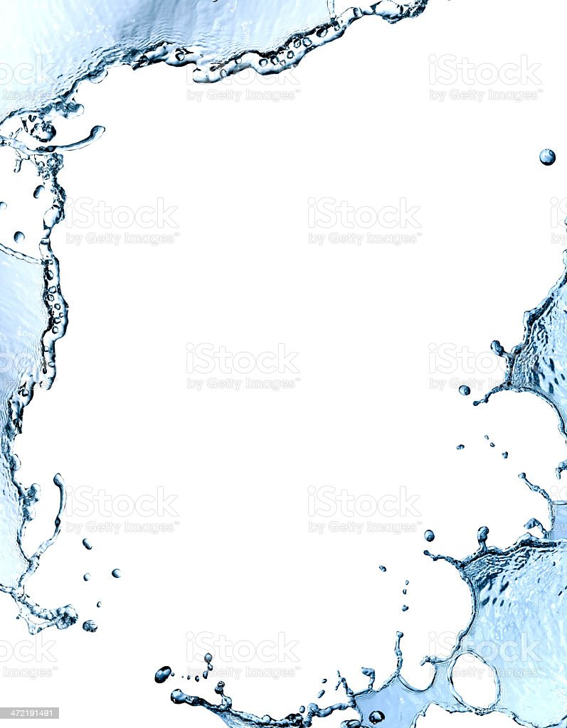 Water Frame stock photo