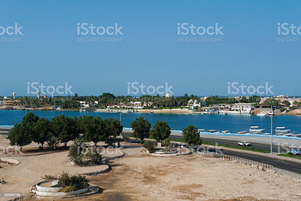 Water Front of Red Sea stock photo