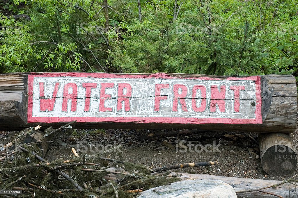 Water Front royalty-free stock photo