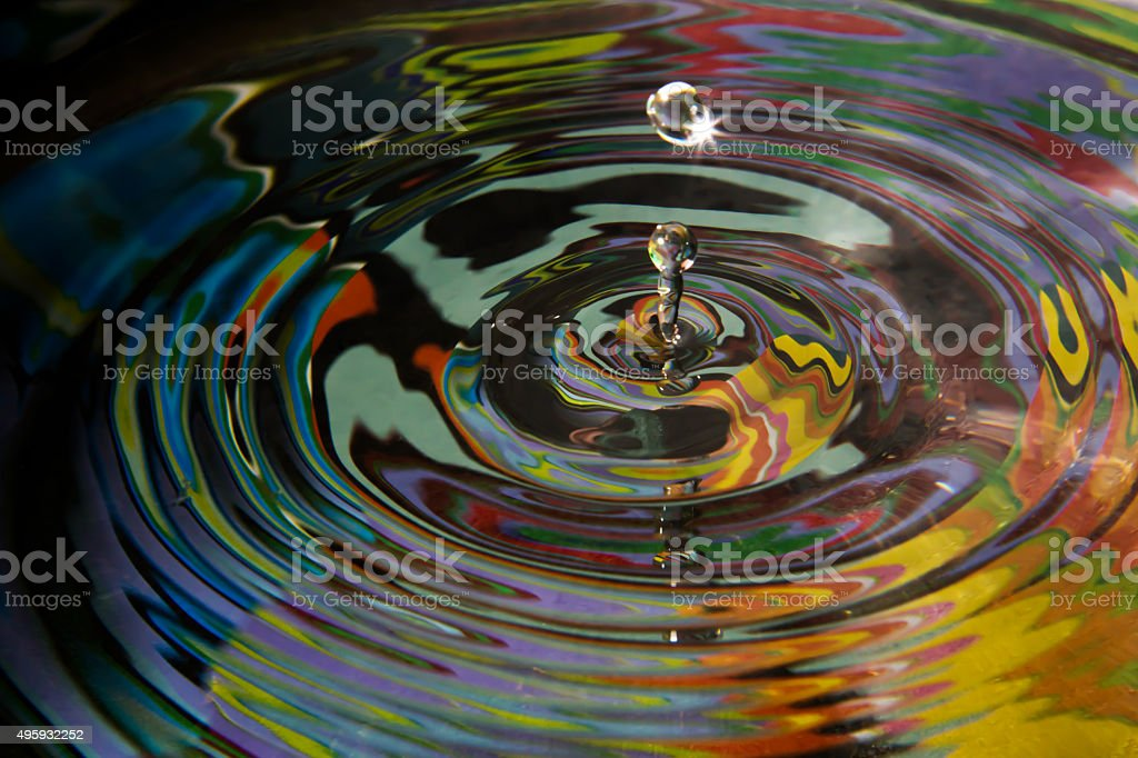 Water games stock photo