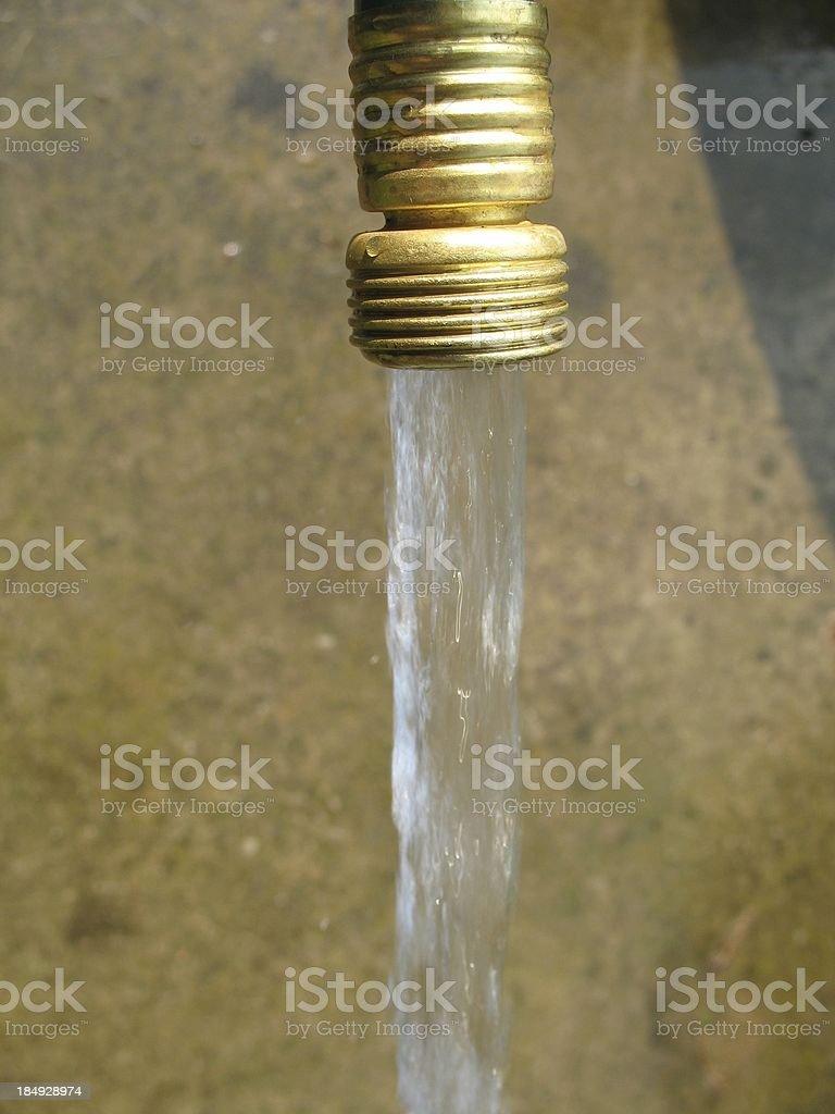 Water Garden Hose royalty-free stock photo