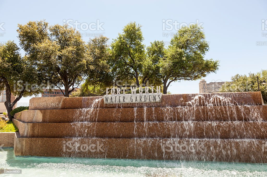 Water Gardens In Fort Worth Tx Usa Stock Photo Download Image Now Istock
