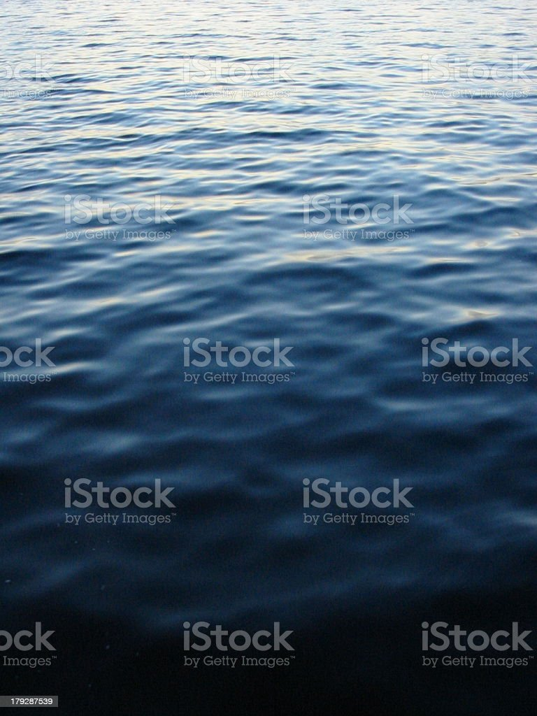 Water Gradient royalty-free stock photo