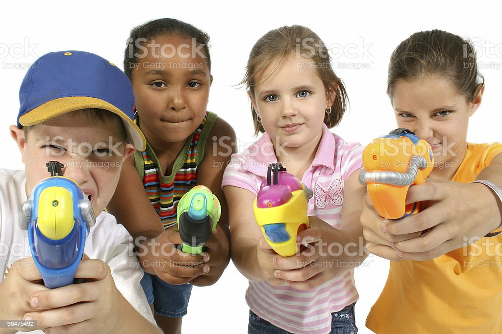 Water Guns royalty-free stock photo