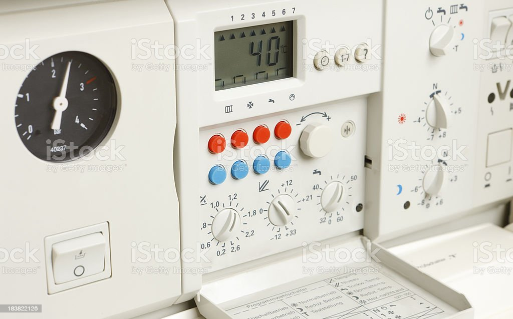 Water Heater royalty-free stock photo