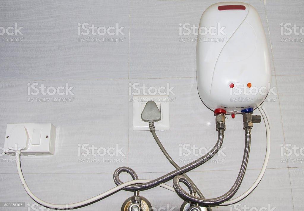 Water heater stock photo